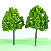 China HO scale Architectural model Plastic trees, street model trees on sale