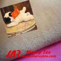 super soft microfiber velboa plush fabric for soft toy Manufactures