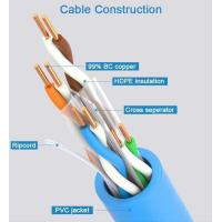 PE Wire And Cable Machinery CAT6A Cable Making , Siemens Electricity Brand