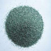 China Green silicon carbide/carborundum/carbofrax grains for marble grinding wheel on sale