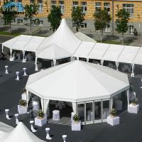 Quality 850 Sqm Luxury Custom Made Tents , Tailor Made Commercial Event Marquee Tent for sale