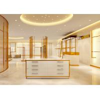 Luxury Stainless Steel Store Display Fixtures For Women Clothing Shop Manufactures