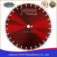 China 400mm Dry Cut Diamond Blade , Concrete Cutting Saw For Soft /  Hard Construction Materials  on sale