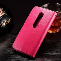 Crazy Horse Moto G3 Motorola Leather Case Anti -  Dirt Handmade Three Cards Slot Manufactures