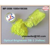 China TOP 4 Manufacturer green or yellow chemical powder  optical brightener OB-1 393  for Plastics/PSF/Master Batches on sale