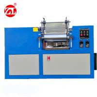 Blue Color Rubber Testing Machine / Lab Two Roll Mill 160*350mm Roller Size Manufactures