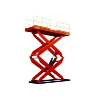 900 / 2000 / 4000 kg Electric Fork Fixed Hydraulic Lifting Platform, electric lift platfor Manufactures