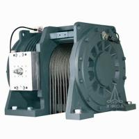 China Double Wrap Gearless Elevator Traction Machine ,Traction Ratio 1:1 2:1 4m/s WTYF328 on sale