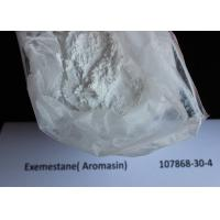 White Oral Bodybuilding Hormone Supplements Aromasin For Fitness , CAS 107868-30-4 Manufactures