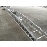 12-58 Steps Aluminum Alloy Marine Boarding Ladder Accommodation Ladder Manufactures