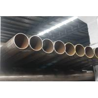Structure Welded Round Pipes, ERW Steel Pipe, Piling / Fence Pipes 60.3 mm - 273mm OD Manufactures