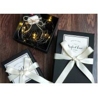 Quality Butterfly Knot Decorative Gift Boxes Packing Cosmetics With Lids for sale