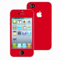 Color Screen Protectors for iPhone 4 with Fullbody Design Manufactures