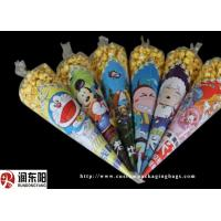 China Opp Customized Logo Size Plastic Food Packaging Bags Heat Sealing For Popcorn on sale
