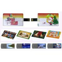 popular credit card usb flash drive with logo printing Manufactures
