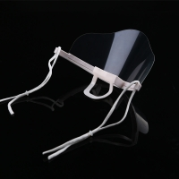 Earloop Style Transparent Plastic Face Cover For Chef Manufactures