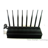 8 Antennas 4G GPS Cell Phone Signal Jammer Manufactures