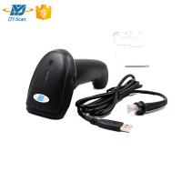 CCD Image Wired Handheld Barcode Scanner 1D 2500 Resolution For Mobile Payment Manufactures