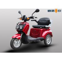 Electric Scooters Handicapped Adults , Outdoor 3 Wheel Mobility Scooter Manufactures