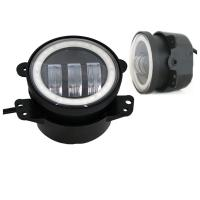 DOT SAE approved for 4 inch Jeep Fog Light With Day Running Light made in Guangzhou good price Manufactures