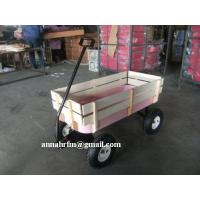 China PINK PULL ALONG TROLLEY TOOL CART BEACH WAGON on sale