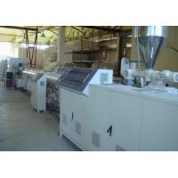 PVC Flexible Plastic Pipe Extrusion Line / Twin Screw hose pipe Making Machine Manufactures
