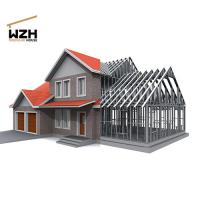 Villa Use Light Gauge Steel Framing Manufactures