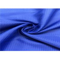 100% Polyester Anti Static Lining Fabric Lattice Pattern With High Color Fastness Manufactures