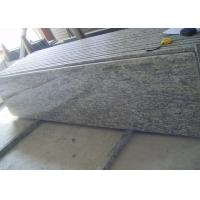 China Brazil Nature Giallo Cecilia Granite Slab Countertops Bullnose With Laminated Edge on sale