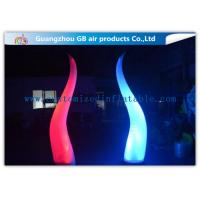 Nylon Cloth Outdoor Inflatable Lighting Decoration Blow Up For Activity Stage Manufactures