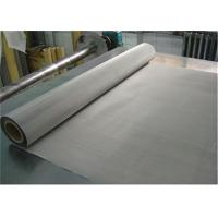 China 635 Mesh Roll Plain Weave SS 304 Wire Mesh , Stainless Mesh Screen For Printing on sale