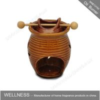 Classic Design Decorative Scented Oil Burners Ceramic Vase Shaped For Office Manufactures