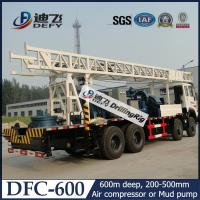 China DFC-600 Sinotruck Truck Mounted Water Well Drill Rig Price for Sale on sale