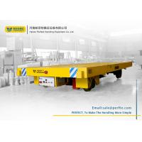 China 10 Ton Capacity Battery Powered Cart On Rails For Heavy Cargo Handling on sale