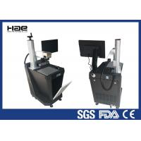 Air Cooling UV Laser Automatic Marking Machine For Plastic High Grade Precision Devices Manufactures
