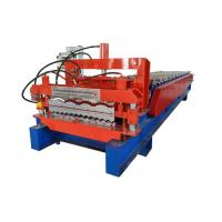 Weight 4.5 Tons Double Layer Roll Forming Machine Any Two Profiles Combination Available Manufactures