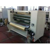 China Stationary Bopp Tape Slitter Rewinder Machine For Double Sided Tape / Masking Tape on sale