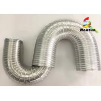 HVAC System Semi Rigid Aluminum Flexible Duct Pipe Air Conditioning Duct Manufactures