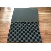 Wavy Shape Acoustical / Acoustic Insulation Materials For KTV / Studio Soundproof Manufactures
