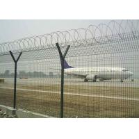 Black Color Galvanized Welded Mesh / Welded Wire Mesh Panel CE Listed Manufactures