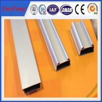 Jiangyin Factory oversea wholesales round anodized aluminum led channel Manufactures