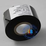 Paper PVC PET plastic abs label date printing scf900  fc3  lc1black hot coding foil ribbon 25mm*100m Manufactures