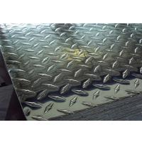 ASTM A786 Checkered Plate , 5 Bar Aluminum Tread Plate 1050 1060 1100 3003 3105 5052 Manufactures