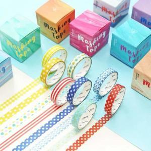 China Custom Printed Crepe Paper Set Masking Washi Tape on sale
