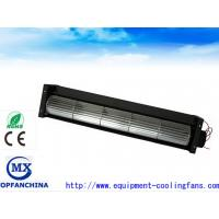 Quality Low Noise 12V / 24V Sleeve Bearing DC Cross Flow Fan With Aluminum Frame for sale