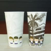 Quality Cold Color Changing Plastic Cup Personalized Kids Mugs Carton Plastic mug for sale