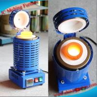 China Hot Sell JC-K-110-2 Industrial Electric Aluminum Melting Furnace on sale