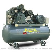 Cylinder Piston Industrial Air Compressor For sandblasting / Tire Inflation 4 kw Manufactures