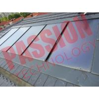 Flat Plate Solar Thermal Collectors , House Solar Heat Collector Panels Manufactures