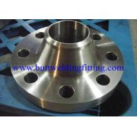 China Steel Flanges , Weld Neck Flanges / ASTM A 182 , GR F1, F11, F22, F5, F9, F9 on sale